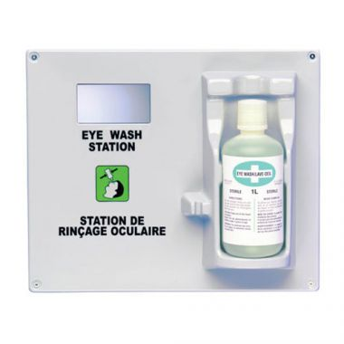 BIOS® Eye Wash Station w/ Mirror, Grey - RFS929/04066