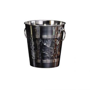 American Metalcraft® Wine Bucket w/ Hammered Finish, 5 qt- RFS035/WB9