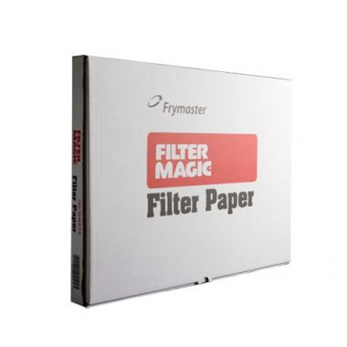 "Garland® Frymaster™ Filter Paper for Footprint Systems, 19.5"" x 27.5"" (100EA/CS) - RFS085/803-0170"