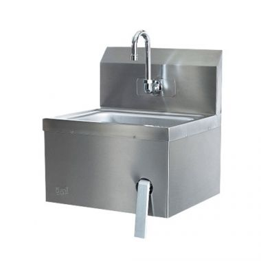 Quest®  Wall-Mounted Hands-Free Sink, Pre-Plumbed -  RFS2163/125A-HFSSINK-P