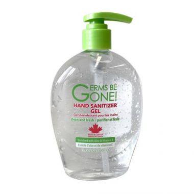 Germs Be Gone!® Hand Sanitizer Gel, 65% Ethyl Alcohol, 11.2 fl oz - RFS2343/HANDSANITIZER 330ML
