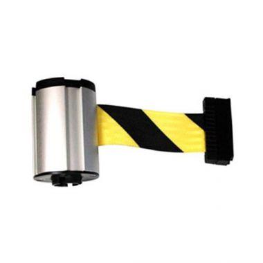Rubbermaid® Belt Cassette for Cone Barricane, Yellow / Black, 7 ft  - RFS152/FG6287L10000