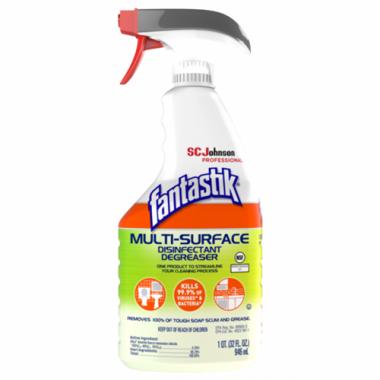 Fantastik® Pro™ All-Purpose Disinfectant Cleaner w/ Trigger, 946ml - RFS464/SCJ-62913000789