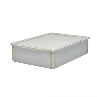 "Cambro®Camwear®Pizza Dough Box, White, 18"" x 26"" x 6"" - RFS025/DB18266CW148"
