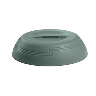 "Cambro® Camwear® Shoreline Collection Delivery Ware Dome, Meadow, 9"" - RFS025/MDSLD9447"