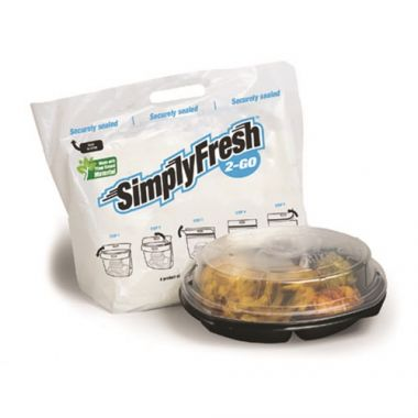 SimplyFresh 2 Go® Tamper Evident Delivery Bags (250/CS) - RFS3139/SIMPLY FRESH 2-GO