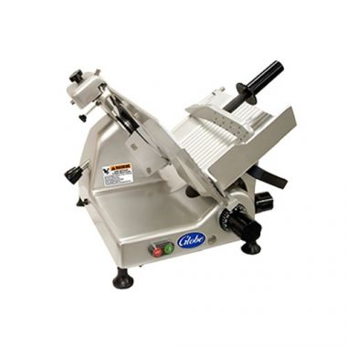 "Globe® Manual Medium-Duty Meat Slicer, 1/3 HP, 10""- RFS817/G10"