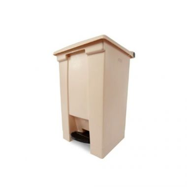Rubbermaid® Legacy™ Step-On Container, Beige, 12 Gal -  RFS152/FG614400BEIG