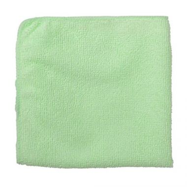 "Rubbermaid® Light Duty Microfibre Cloth, Green, 12"" - RFS152/1820578"