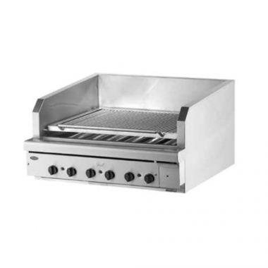 "Quest® Stainless Steel Charbroiler, Natural Gas, 40"" - RFS2163/105-BROQB40(NG)"