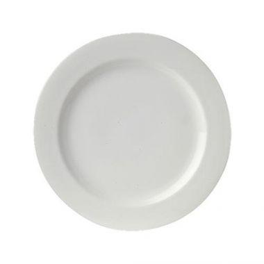 """Steelite® Avalon™ Wide Rimmed Plate, 10.25"""" - RFS066/61101ST0253"""