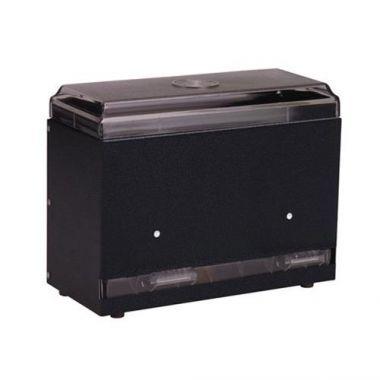 Vollrath® Giant Straw Boss®  Bulk Straw Dispenser, One-sided, Black, 250 Capacity- RFS1900/3835-06