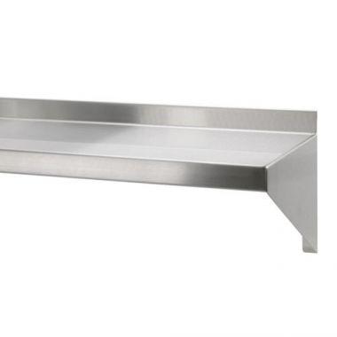 "Quest® Stainless Steel Wall Shelf, 48"" x 15"" - RFS2163/146-WASH148(15"")"
