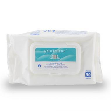 Disinfecting Wipe, 75% Alcohol (50/PK) - RFS2343/ALCOHOL WIPES 5X7.5