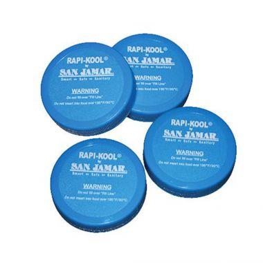San Jamar® Replacement Caps for Rapi- RFS702/RCUCAPPAK