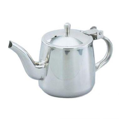 Vollrath® Stainless Steel Gooseneck Teapot, 10 oz - RFS1900/46310