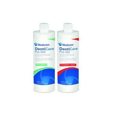 Medicom DentiCare Pro-Gel Flouride Gel 1.23% APF 60 Second Strawberry 480ml