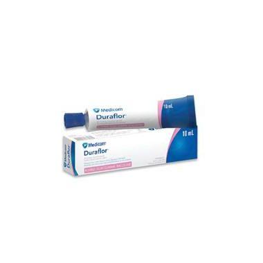 Medicom Duraflor 5% Sodium Fluoride Varnish, 10ml Tube Bubblegum
