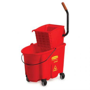 Rubbermaid® WaveBrake High-Performance Mopping System 35 Qt, Red - RFS152/FG758888RED