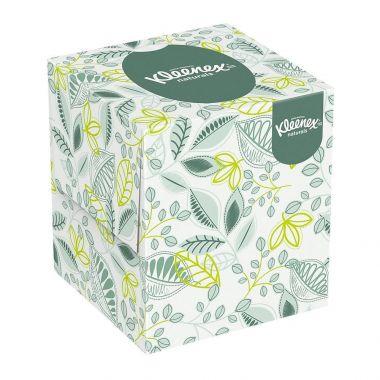 "Kleenex 8.4"" x 8.4"" Naturals Boutique Facial Tissue, White, 36/Pack (21272)"
