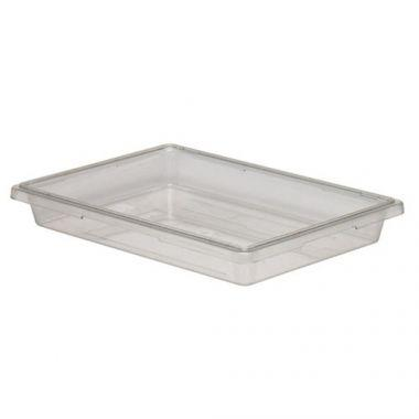 "Cambro® Camwear Food Box, Clear, 18"" x 26"" x 3.5"" - RFS025/18263cw135"