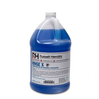 RINSE X™ Premium Commercial Grade Dishwasher Rinse, 4L (4/CS) - RFS2267/L2232-001 RH