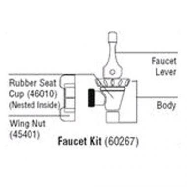 Cambro® Ultra Container Faucet Kit - RFS025/60267