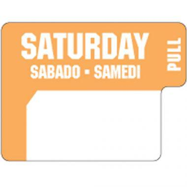 Ecolab® DuraLabel Day Sticker, Saturday - RFS240/10136-06-31