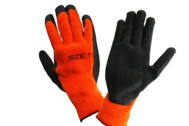 LATEX PALM COATED WORK GLOVE WITH LINING