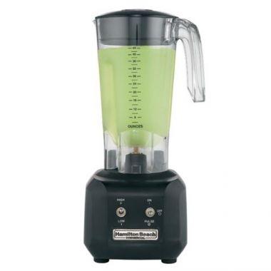 Hamilton Beachï® Rio Commercial Blender, Polycarbonate Cup, 0.5 hp 44 oz - RFS181/HBB250R