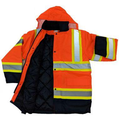 HIGH VISIBILITY PARKA - SEPARABLE INTERIOR