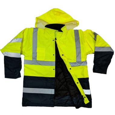 HIGH VISIBILITY PARKA - GREEN