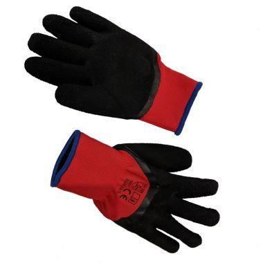 3/4 LATEX COATED WORK GLOVE WITH LINING