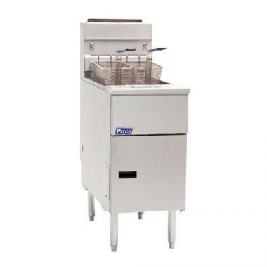Pitco® SG14S Fryer, Natural Gas - RFS390/SG14SN