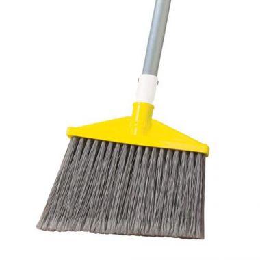 Rubbermaid® Angle Broom, Grey - RFS152/FG638500GRAY
