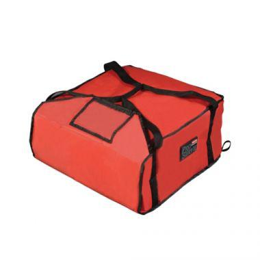 """Rubbermaid® PROSERVE™ Professional Pizza Delivery Bag, Red, Large, 21 1/2"""" x 19 3/4"""" x 7 3/4"""" - RFS152/fg9f3700red"""