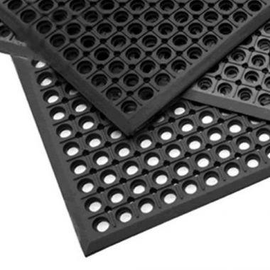 Mul-T-Mat® Mega 'Ring' Mat, Black - RFS236/474LD-3X5BK