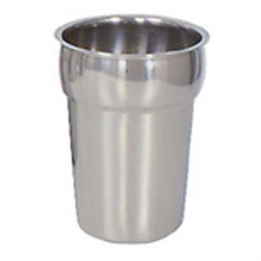 Browne® Vegetable Insert for Steam Tables/Soup Warmers, Stainless Steel, 2.4Qt - RFS016/575581