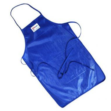 "Tucker Safety Products® QuicKlean™ Poly-Cotton Apron, Blue, 36"" - RFS295/50362"