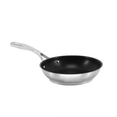 """SignatureWares™ Non-Stick  Stainless Steel Frypan, Excalibur Finish, 9.5""""- RFS5000/FRYPANSS95X, Free Shipping in Canada. Shop Linen Plus"""