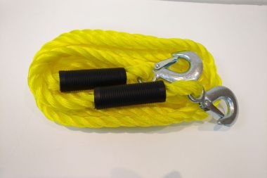 Emergency Tow Rope with Hooks