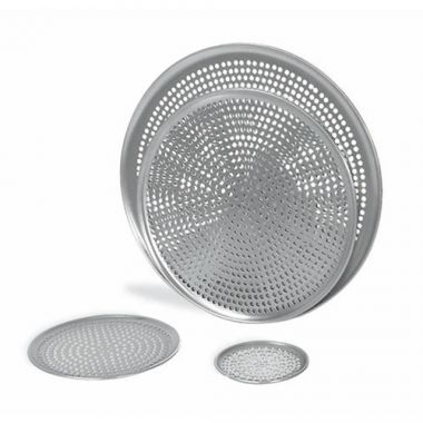 "Browne®Perforated Aluminum Pizza Tray, 13"" - RFS016/575353"