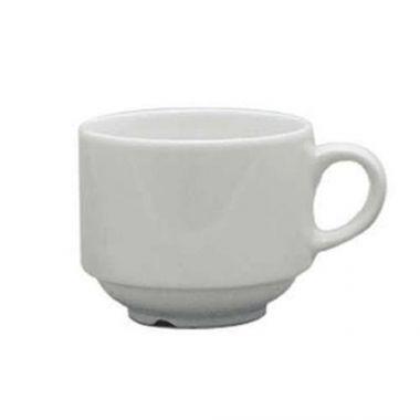 Continental® Polaris Plain White Stacking Cup, 7.5 oz (2DZ) - RFS674/51CCPWD035