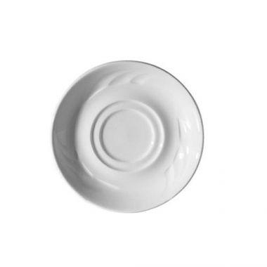 "Continental® Everest Double Well Saucer, 6"" - RFS674/21CCEVE307"