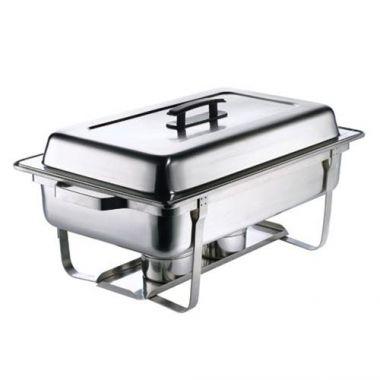 Browne® Rectangular Economy Chafer, Stainless Steel, Full Size, 9 Qt - RFS016/575126