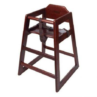 G.E.T.® High Chair, Mahogany (4DZ) - RFS689/HC-100-M-KD-1