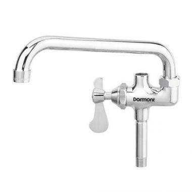"Dormont® Power Force Pre-Rinse Add-On Faucet w/Swing Spout 12"" - RFS074/lfaf-12-r"