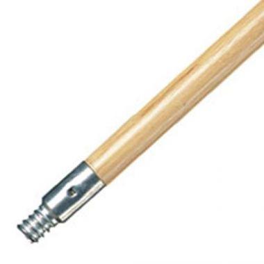 "Rubbermaid® Wooden Broom Handle 60"" - RFS152/FG636400LAC"
