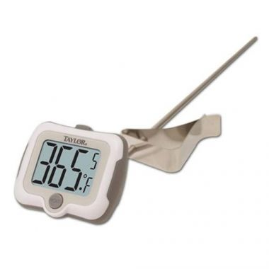 Taylor® Pivoting Head Digital Candy/Deep Fry Thermometer - RFS396/9839-15