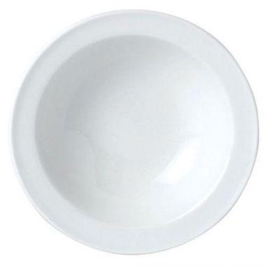 "Steelite® Simplicity Stone Rim Fruit Bowl, White, 5.25"" - RFS066/11010131"